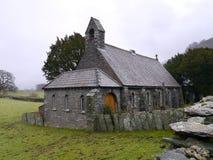 三位一体教会,农庄, Borrowdale 库存图片