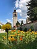 三位一体教会,班斯科,保加利亚 免版税库存图片