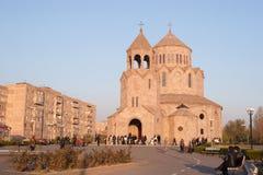 三位一体教会,耶烈万 免版税图库摄影