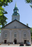 三位一体教会,魁北克市 库存照片
