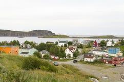 三位一体海湾纽芬兰 免版税库存图片