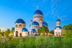 三位一体的教会在Orekhovo鲍里索夫 免版税库存图片