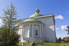 三位一体的教会在Voskresensky Goritsky修道院沃洛格达州地区 免版税图库摄影