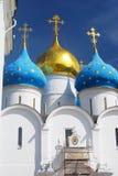 三位一体的Sergius拉夫拉Dormition教会 联合国科教文组织Herit 库存照片