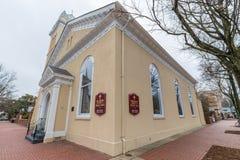 三位一体主教制度的教会在波兹毛斯 图库摄影