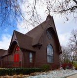 三位一体主教制度的教会 免版税库存图片