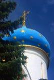 三位一体Sergius Lavra, Sergiev Posad,俄国 联合国科教文组织世界Herit 免版税库存照片