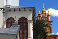 三位一体Sergius Lavra, Sergiev Posad,俄国 联合国科教文组织世界Herit 免版税库存图片