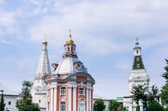 三位一体St Sergius拉夫拉的教会 库存照片