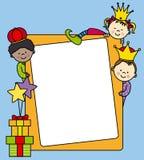 给三位国王的信函 库存照片