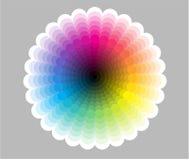 三原色圆形图 免版税库存图片