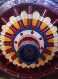 三原色圆形图 库存照片