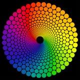 三原色圆形图 免版税库存照片