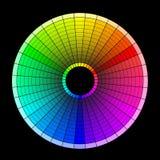 三原色圆形图 免版税图库摄影