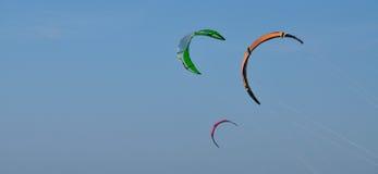三只风筝 免版税库存照片