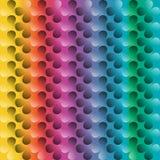 三叶草五颜六色的抽象背景, 免版税图库摄影
