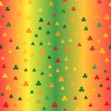 三叶草样式 1866根据Charles Darwin演变图象无缝的结构树向量 免版税库存图片