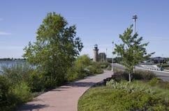 三叶草海岛帕斯科华盛顿州 库存图片