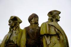 三名创建者 免版税库存照片