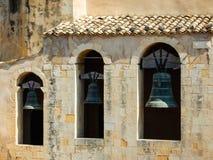三响铃在诺托,西西里岛 图库摄影