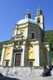 三塔Croce历史的教会Riva的圣维塔利 免版税库存图片