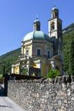 三塔Croce历史的教会Riva的圣维塔利 免版税图库摄影