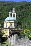 三塔Croce历史的教会Riva的圣维塔利 免版税库存照片