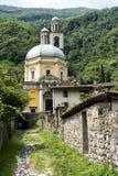 三塔Croce教会Riva的圣维塔利 库存图片