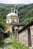 三塔Croce教会Riva的圣维塔利 库存照片