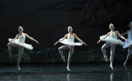 三大天鹅芭蕾天鹅湖 图库摄影