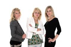 三女商人 免版税库存图片