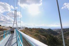 三岛skywalk 库存照片