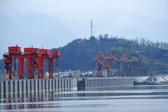 三峡大坝,中国 免版税库存图片