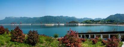 三峡大坝 免版税库存照片