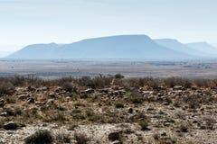 三座山-山斑马国家公园 免版税库存照片