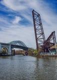 三座桥梁 库存图片