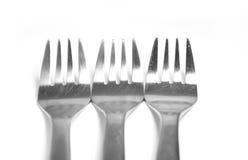 三把叉子 库存照片