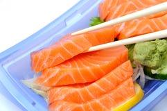 三文鱼寿司 免版税库存照片