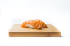三文鱼寿司Nigiri 库存图片