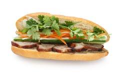 三明治越南语 库存照片