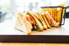 三明治鸡 图库摄影