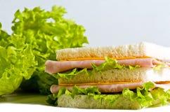 三明治 库存照片
