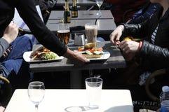 三明治午餐 免版税图库摄影
