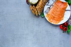 三明治的成份 免版税图库摄影