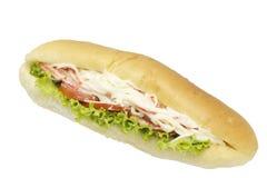 三明治螃蟹棍子 免版税库存图片