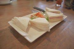 三明治,健康菜 库存图片