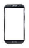 三星星系S4黑色 免版税库存图片
