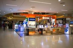 三星购物在中央节日Chiangmai里面 免版税库存照片