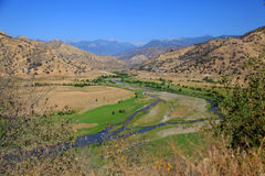 三条河加利福尼亚 免版税图库摄影