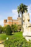 三条龙的城堡 免版税库存照片